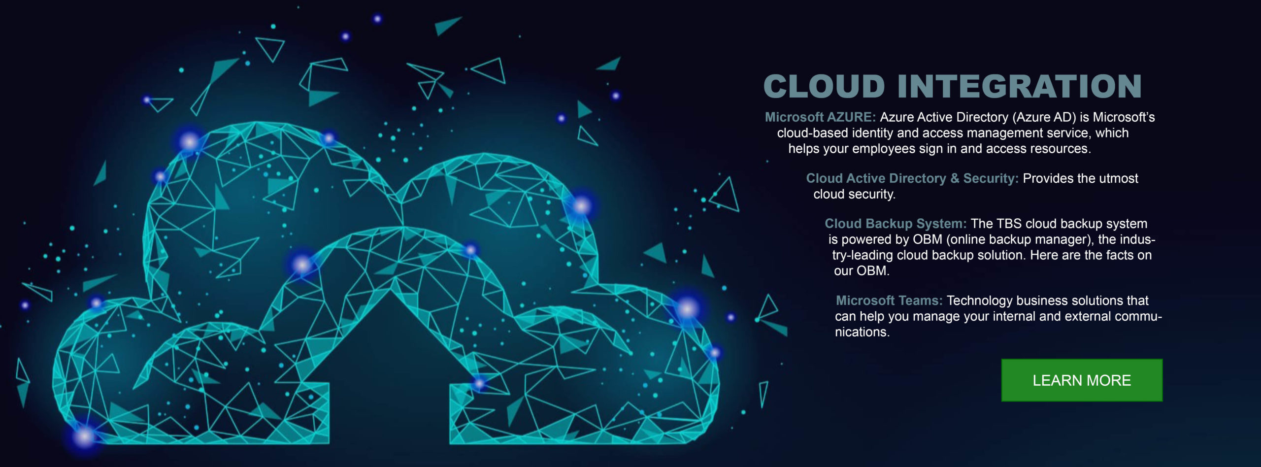 managed services cloud integration banner #2