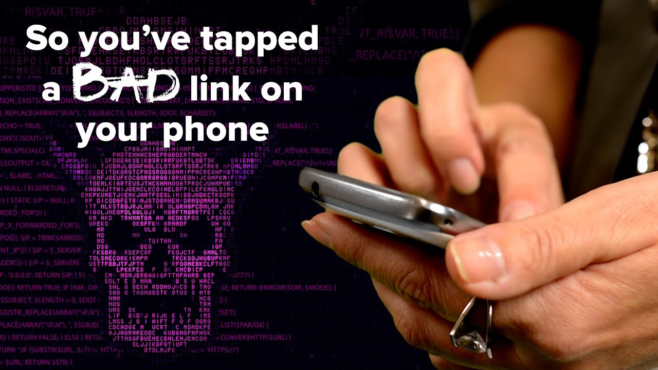 Read more about the article So, you've tapped a bad link on your phone?